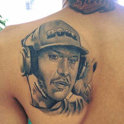 Tatuagem do Chorão completamente cicatrizada. #AndyMarques #pretoecinza #blackandgrey #Chorão #CharlieBrownJr #Rock #musica #tatuadoresdobrasil