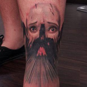 A dark shroud covering the face. (via IG - joshmeow) #EsaoAndrews #EsaoAndrewsTattoo