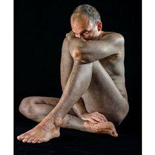 Meschi's tattoos are visually stunning #vegan #veganink #animals #veganism #political #AlfredoMeschi