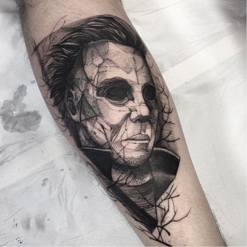 Por Fredão Oliveira! #FredaoOliveira #MichaelMyers #MichaelMyersTattoo #BlackWork #FromHell #TatuagemFromHell #TatuagensMacabras #TatuadoresBrasileiros #TatuadoresBr #TatuadoresBrasil #TattooBr #TattooBrasil