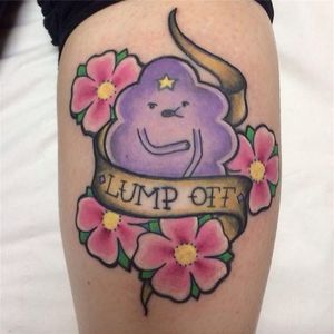 LSP loud, proud, and sometimes homeless by unknown artist. #AdventureTime #flowers #LSP #traditional