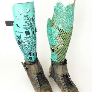 """Alpine"" cover via instagram alleles #prosthetics #prosthetic #fashion #alleles"