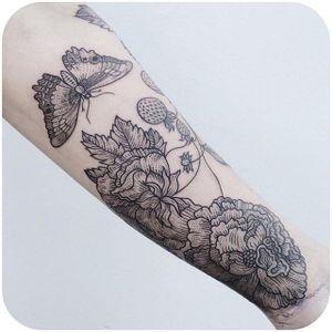 @freeorgy #tattoodo #scrimshaw #blackwork #linework #butterfly #freeorgy
