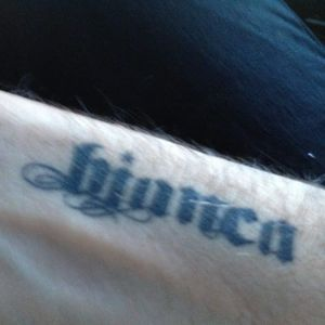 Howard Stern's tattoo dedicated to his beloved bulldog. #celebrities #pets #howardstern