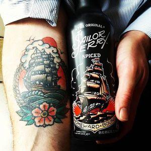 via instagram sailorjerry #sailorjerry #ship #traditional #sailorjerryrum #londoncocktailweek #guide