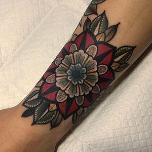 Geometric Tattoo by Mico @micotattoo #micotattoo #geometric #mandala