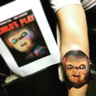Chuckie Tattoo by Nikko Hurtado @NikkoHurtado #NikkoHurtado #Cinematic #Portrait #Chuckie