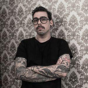 Pictured, Chaim Machlev. #ChaimMachlev #tattooartist
