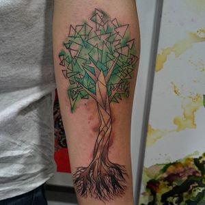 Tree Tattoo by Loreen2l #tree #treetattoo #watercolortree #watercolor #watercolortattoo #sketch #sketchtattoo #watercolorsketch #sketchwatercolor #abstractwatercolor #Loreen2L