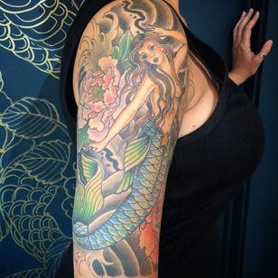 Tattoo by Eddy Ospina (Via IG - eddyospina)