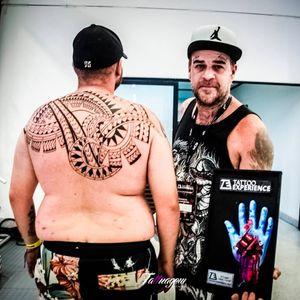 KD Art! #KDArt #TattooExperience #texp2016 #maori #maoritattoo #melhormaori #tatuadoresbrasileiros