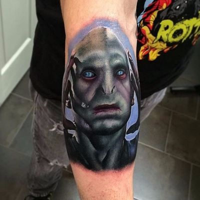 Realismo impressionante de John Barrettt #JohnBarrett #Voldemort #HarryPotter #JKRowling #book #livro #personagem #character #badguy #vilao #realismo #realism #sonserina