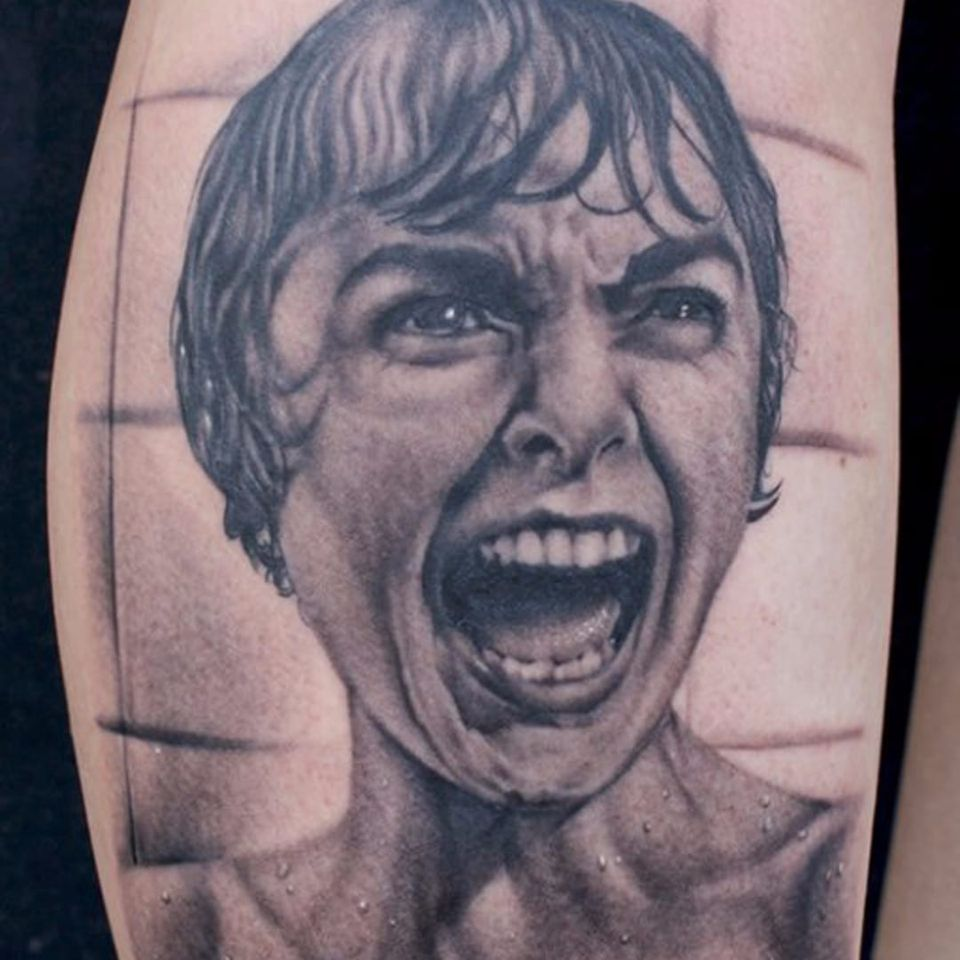 Marion Crane prestes a morrer em Psicose #TyeHarris #ClassicosDoCinema #Filmes #movies #classicmovies #cinema #Psicose #psycho #marioncrane #janetleigh #AlfredHitchcock #horrormovie #terror #woman #mulher #realismo