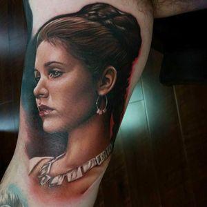 #SarahMiller #CarrieFisher #PrincesaLeia #PrincessLeia #StarWars #GuerraNasEstrelas #portrait