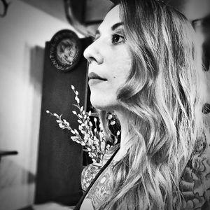 Marie Sena #artist #tattooartist #MarieSena #blackworkartist
