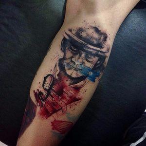 #RobertoFelizatti #aquarela #watercolor #tatuadoresdobrasil #sketch #colorida #colorful #chapeu #hat