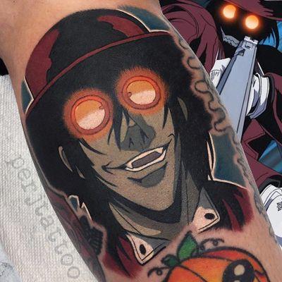 Alucard de Hellsing #AdamPerjatel #comics #colorido #colorful #desenho #animação #cartoon #anime #alucard #hellsing #chapeu #hat #homem #man #vampire #vampiro #sunglasses #oculosdesol