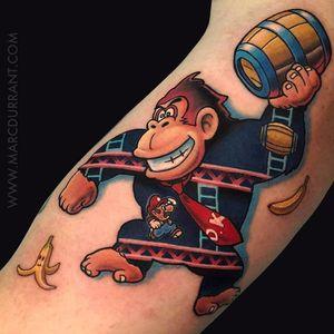 Donkey Kong e Mario por Marc Durrant! #MarcDurrant #gamer #videogame #jogador #jogo #geek #nerd #mêsnerd #mario #donkeykong #supermario #dk #orgulhonerd #nerdpride
