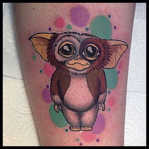 Gizmo by Keely Rutherford (via IG-keelyrutherford) #gizmo #gremlins #colorful #portrait #KeelyRutherford