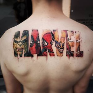 #DanieleMaiorano #MaioInk #gringo #colorido #colorful #realismo #realism #marvel #superhero #superheroi #nerd #geek #hulk #deadpool #spiderman #homemaranha #wolverine #ironman #homemdeferro #hq #comics #movie #filme