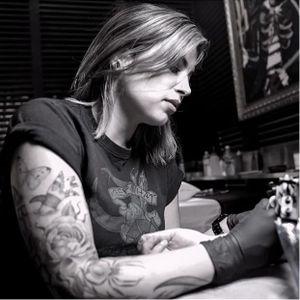 Pictured, Georgia Grey. #GeorgiaGrey #bangbangnyc #nyc #tattooartist #artist