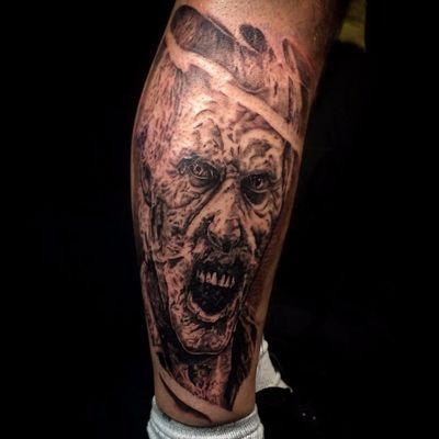 O realismo de #SimonAshley #zumbi #zombie #realism #realismo