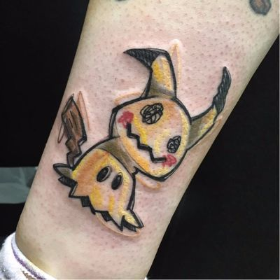 #LucaTestadiferro #coloridas #colorful #nerd #geek #tatuadoresgringos #pokemon #pikachu