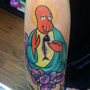 Why not Zoidberg? #Futurama #Zoidberg #FuturamaTattoo #ZoidbergTattoo #MattGroening