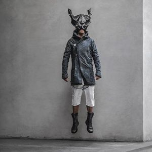 Masked by Heathen Clothing (via IG-heathenclothing) #clothing #designer #menswear #genderneutral #indiedesigner #heathenclothing