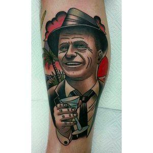 Happy Gentleman Tattoo by Barket Kos @Bk_tats @Kos_Tattoo #BartekKos #KosTattoo #Gentleman #Gentlemantattoo #Wroclaw #Poland