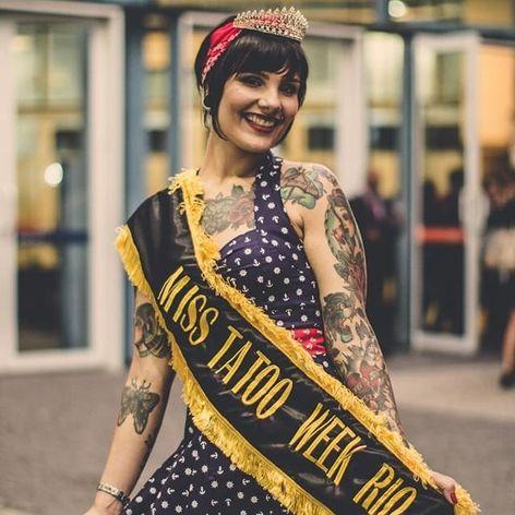 Priscila Santos, Miss Tattoo Week 2016. Foto por Guilherme Mesquita   Tattuagem Multimídia #TattooWeek #TattooWeekRio #RiodeJaneiro #convenção #ConvençãoDeTatuagem #evento #TattuagemMultimidia #misstattooweek #MegaWartz #KingSeven
