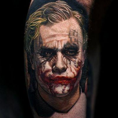 Coringa de Heath Ledger #NikkoHurtado #gringo #realismo #realism #realismocolorido #coringa #joker #HeathLedger #batman #dc #movie #filme #nerd #geek #portrait #retrato