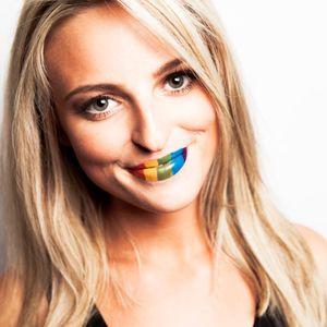 Rainbow Temporary Lip Tattoo #Temporary #LipTattoo #LipArt #Lip #Art #LipTattoos #LipSticker