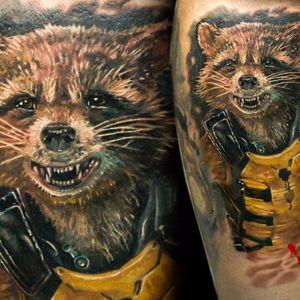 O esquentadinho Rocket #AlexNoir #GuardioesDaGalaxia #guardiansofthegalaxy #marvel #movie #filme #disney #comic #hq #superhero #superherois #rocket #realismo #realism #guaxinim #raccoon