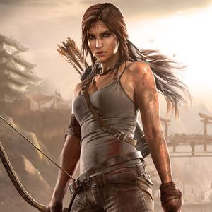 Lara Croft #LaraCroft #tombraider #game #videogame #jogo #mulher #woman #movie #filme #gun #arma #nerd #geek