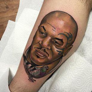 Myke Tyson Tattoo by Brenden Jones #MykeTyson #NeoTraditional #NeoTraditionalPortrait #Portrait #PopCulture #BrendenJones