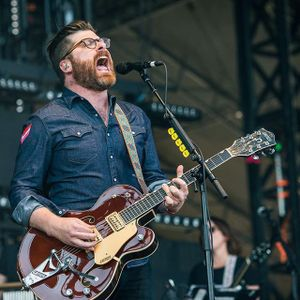 The Decemberists performing at Zilker Park during the 2015 Austin City Limits Music Festival via aclfestival #thedecemberists #music  #musicfestival #austincitylimits #acl #guitarist #guitar #band #Texas