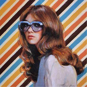 70s bombshell via @thanimara #ARTSHARE #thanimara #fineartist