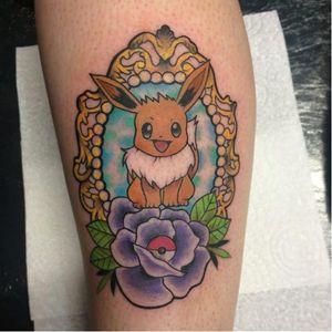 Eevee <3  #pokemongo #pokemontattoos #pokemon #eevee