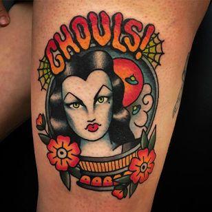 Halloween Tattoo by Moira Ramone @Moira.Ramone #Moiraramone #Halloweentattoo #Halloween