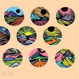 Flash Art by Eugene Nedelko (via IG-dusty_past) #circle #landscapes #smalltattoo #colorful #eugenenedelko
