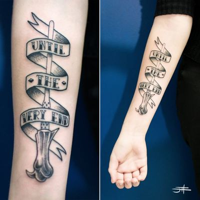 Cast a Spell with these Harry Potter Wand Tattoos #HarryPotter #Magic #Wands #HarryPotterWand
