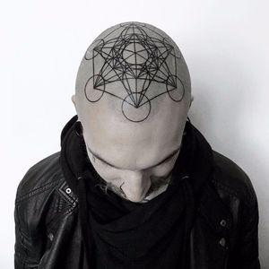 Sacred geometry by Helen Hitori #HelenHitori #linework #blackwork #sacredgeometry #geometric #shapes #circle #triangle #simple #minimal #ornamental #tattoooftheday