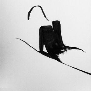 Minimalistic blackwork design #minimalistic #FrédéricForest #linework #lines