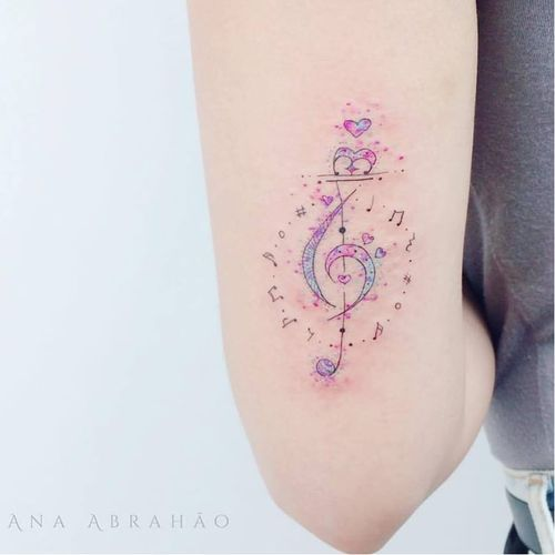 #musica #music #AnaAbrahao #aquarela #watercolor #delicadas #fineline #TatuadoresDoBrasil #TatuadorasDoBrasil #brasilia #brasil