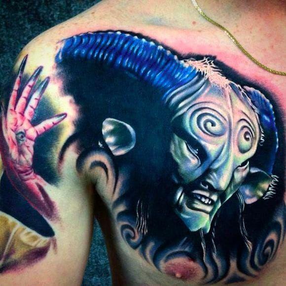 Fauno por Matti Hixson! #MattiHixson #PansLabyrinth #OLabirintoDoFauno #guillermodeltoto #movie #geed #nerd #cult #horror #fauno #faun