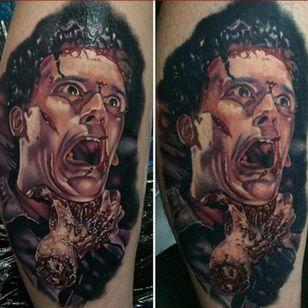 A portrait of Ash from the Evil Dead by John Barrett (IG—yogi_barrett). #Ash #color #EvilDead #JohnBarrett #portraiture
