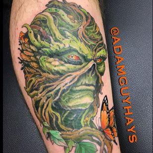 Swamp Thing by Adam Guy Hays. (Via IG - adamguyhays) #swampthing #adamguyhays