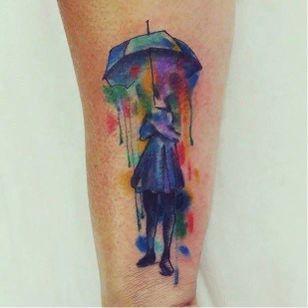 #guardaChuva #umbrella #MarcellusDias #teologo #aquarela #watercolor #brasil #portugues