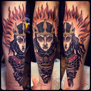 Tattoo by Rakov Serj #NeoTraditional #NeoTraditionalTattoos #RussianTattoo #ModernTattoos #ExcitingTattoos #RakovSerj